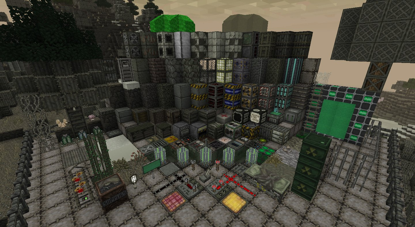 The Last Of Us Minecraft Map - The last of us map pack