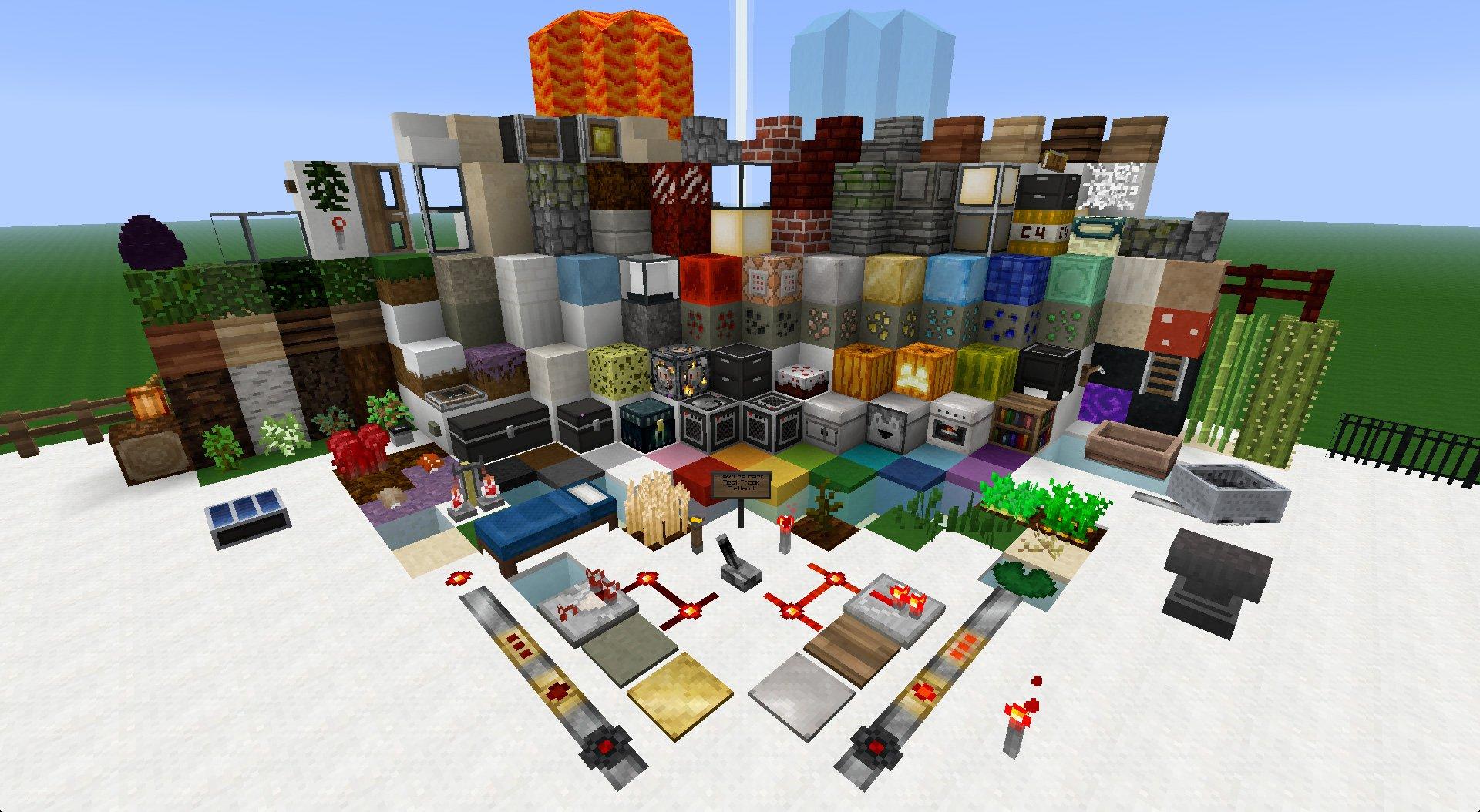 Pamplemousse Minecraft Texture Packs