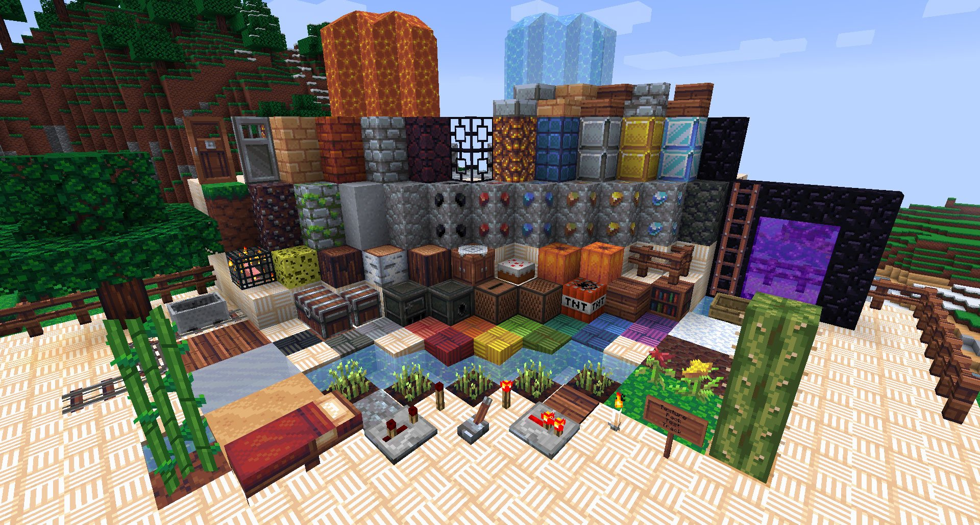 how to find minecraft texture pack