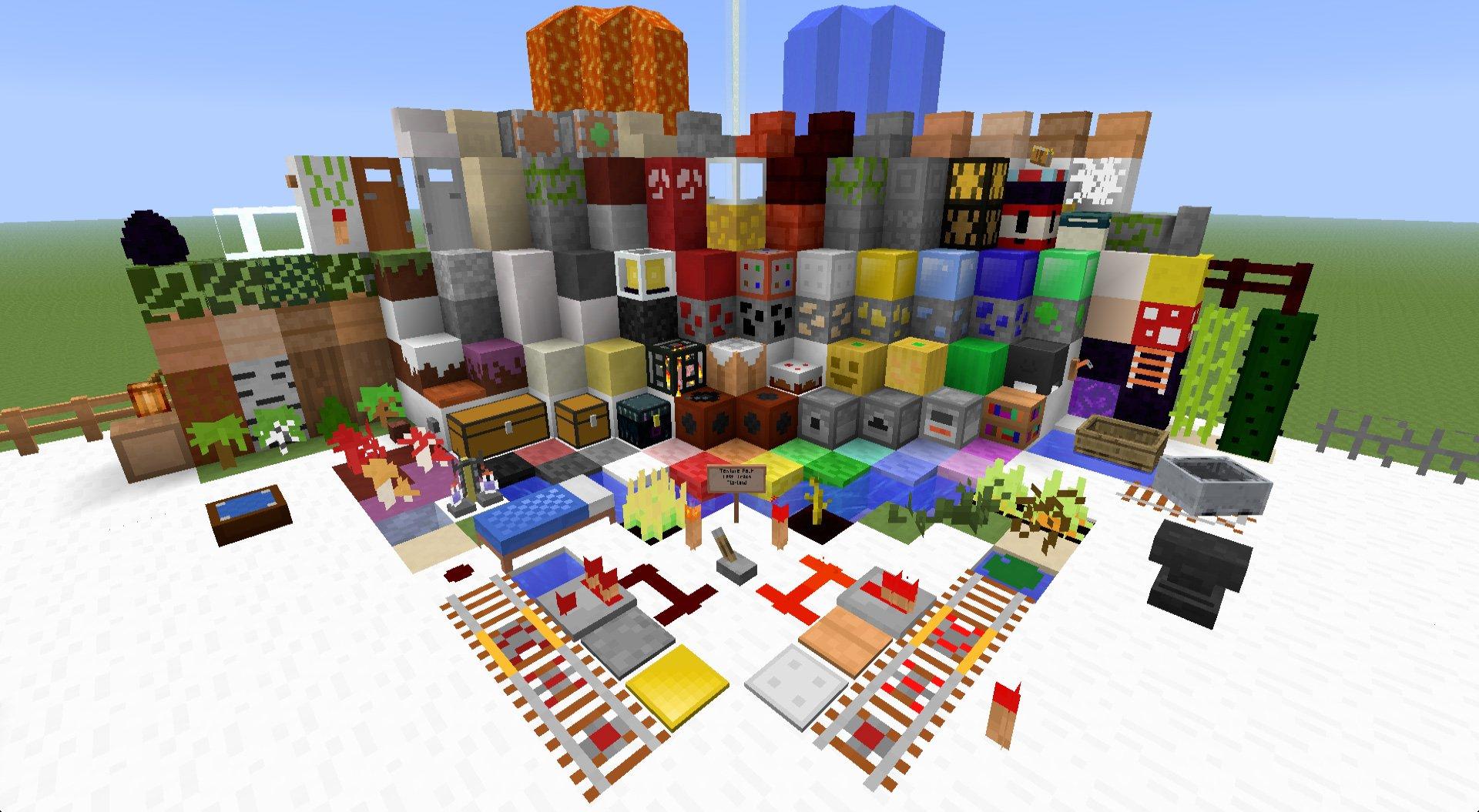 Текстур-паки для Майнкрафт (Minecraft)