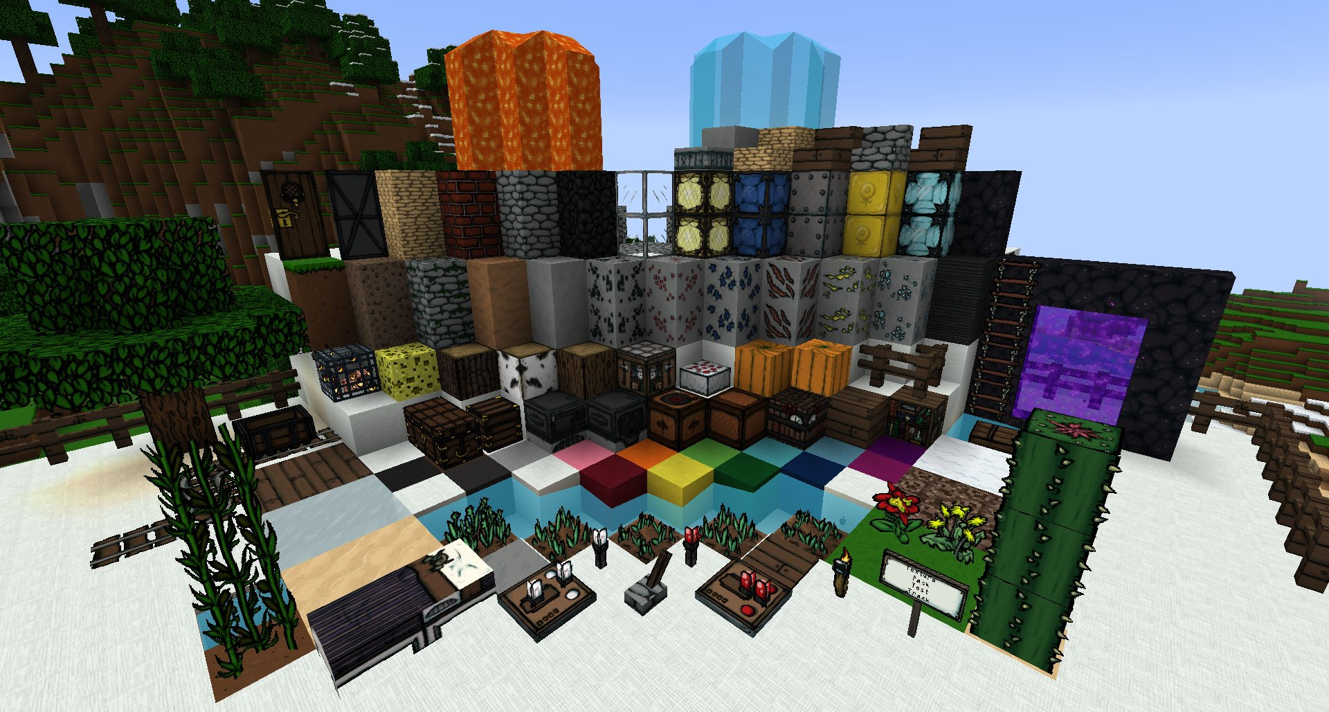 Storyblock Minecraft Texture Packs