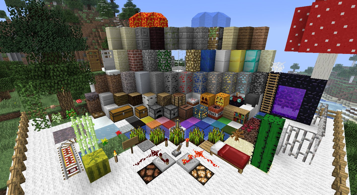 Traditional Beauty | Minecraft Texture Packs