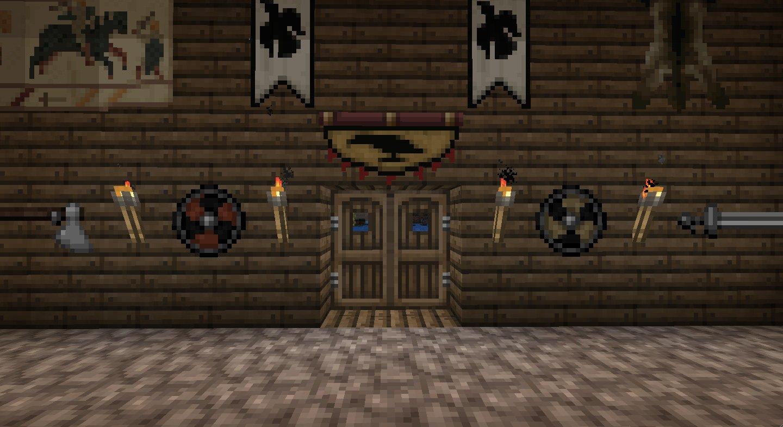 NorseCraft Minecraft Texture Packs - Minecraft wikinger hauser