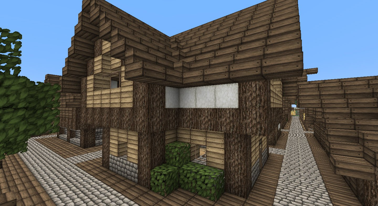 ... and incredibly detailed 64×64 texture pack with a medieval feel: www.minecrafttexturepacks.com/ovos-rustic-pack