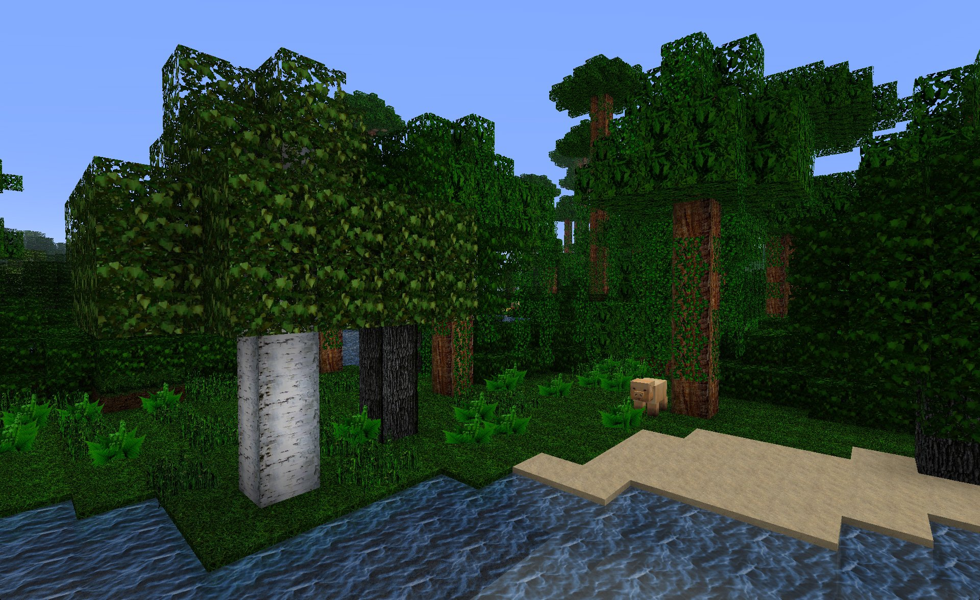 mojokraft realistic текстур пак для minecraft 1.7.2 #10