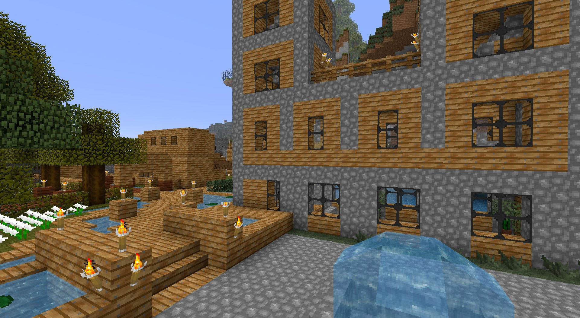ihascupquake minecraft oasis map download
